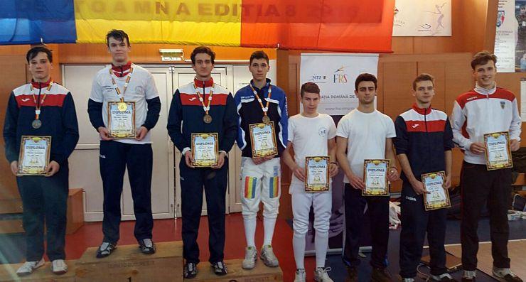 Balazs Szilagyi (CS Satu Mare) a câștigat Campionatul Național de spadă cadeți