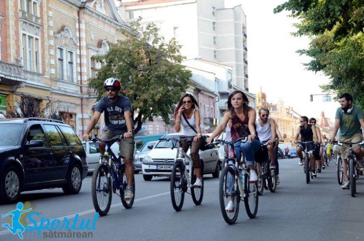Săptămâna mobilității europene | Sătmărenii, invitați să pedaleze până la Mărtinești