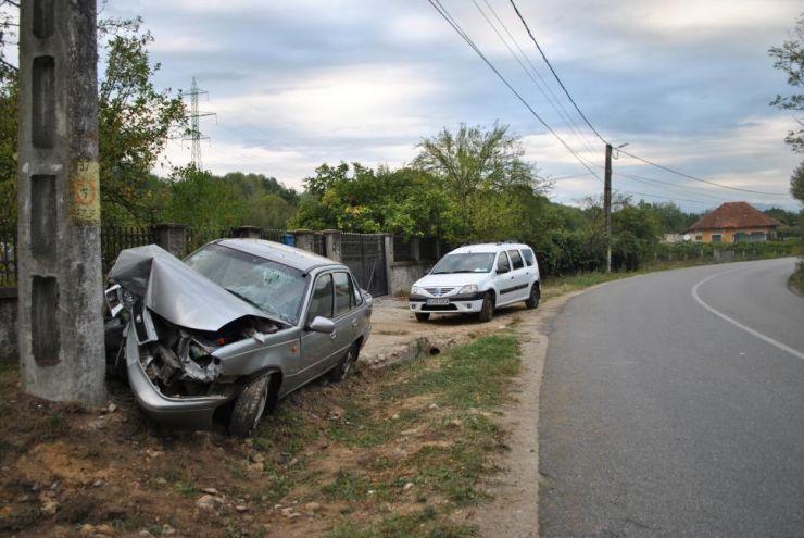 Accident grav lângă Acâș