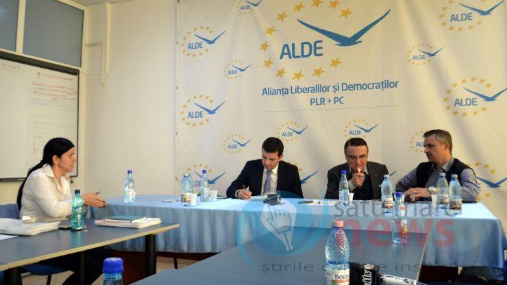 Daniel Constantin, prezent în precampanie electorală la Satu Mare