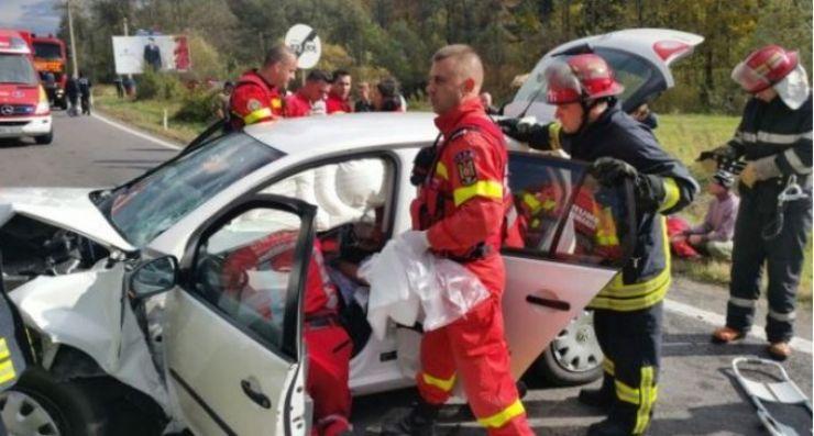Accident rutier cu trei răniți, la Supuru de Jos
