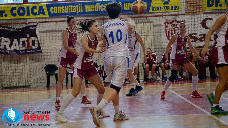 Baschet. CSM Satu Mare a încheiat sezonul regulat cu înfrângeri pe linie