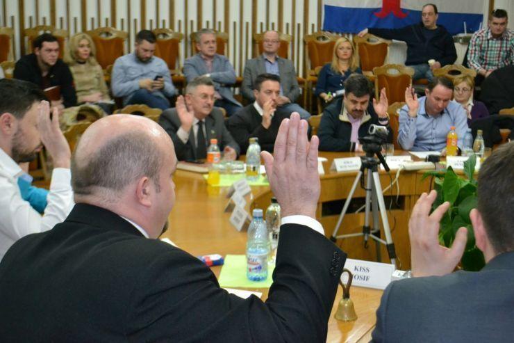 Consilierii locali, convocați în ședință ordinară. Pe ordinea de zi, 36 de puncte