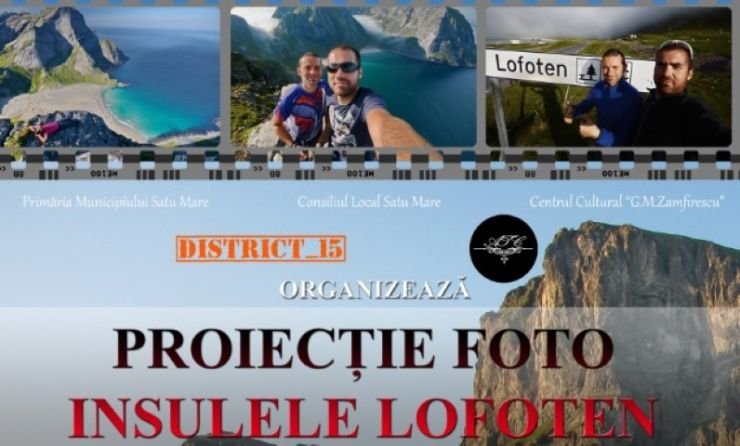 Proiecție foto: Insulele Lofoten, Norvegia, la District 15
