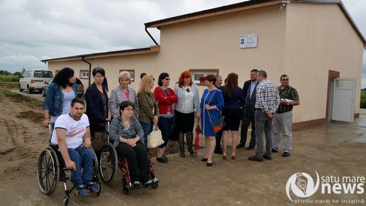 A fost inaugurat primul centru din NV-ul ţării pentru maşinile persoanelor cu handicap