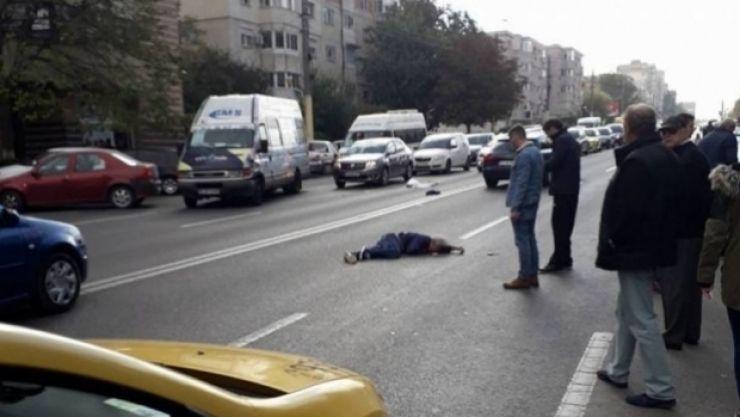 Un sătmărean a accidentat un pieton în centrul municipiului Oradea
