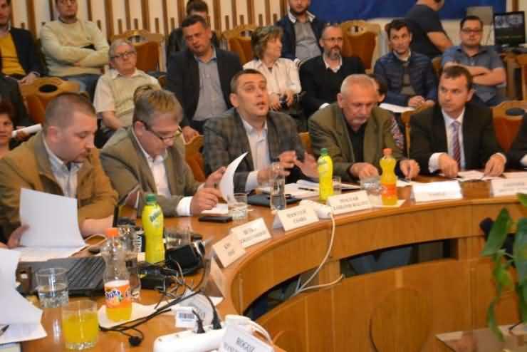 Consilierii UDMR și PNL au respins construirea unui fast-food în zona Burdea