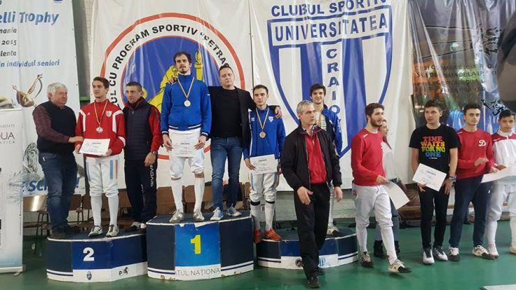 Ádám Mácska, vicecampion național la spadă masculin U23