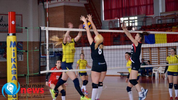 Volei. CSM Satu Mare a pierdut primul meci din play-off