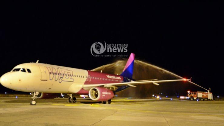 Wizz Air a început zborurile de pe Aeroportul Internațional Satu Mare. Prima cursa a venit din Londra