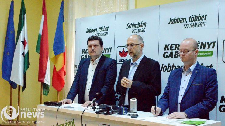 """Pataki Csaba: """"Sătmărenii au de ales între o echipă matură și doi oameni imaturi"""""""