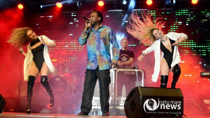 Dr. Alban și 3 Sud Est au făcut show vineri seara de Zilele Orașului Satu Mare