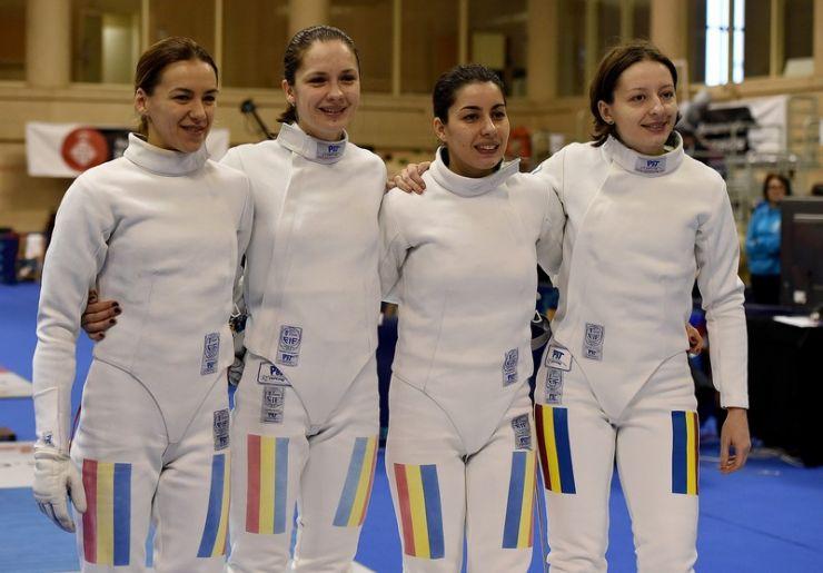 Echipa de spadă feminin a României a câştigat aurul în etapa de Cupă Mondială de la Buenos Aires