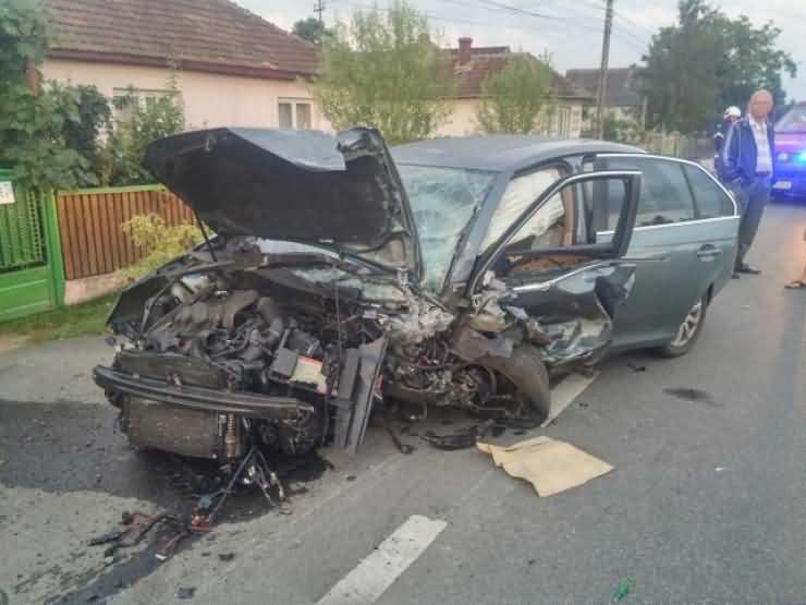 Accident teribil, cu trei morți, în Ciuperceni (FOTO)