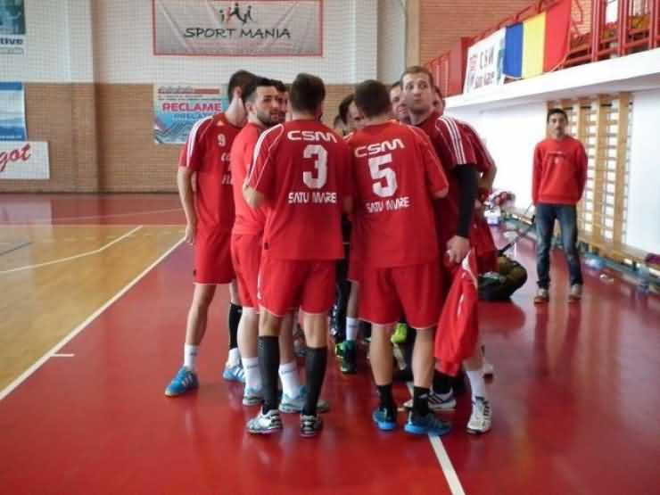 Handbal. AHC Potaissa Turda II-CSM Satu Mare 26-40