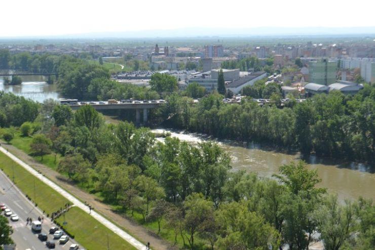 Primăria Satu Mare a scos azi la licitație proiectarea celui de-al treilea pod peste Someș