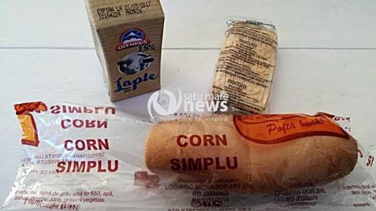 Corn şi lapte, încă din prima zi de şcoală