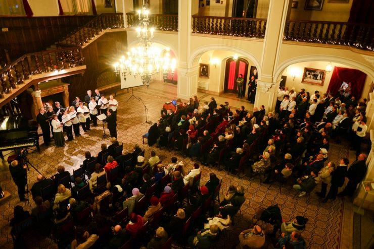 Concert coral de Crăciun la Castelul din Carei