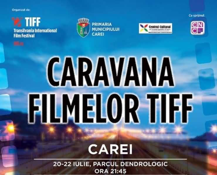 """Caravana TIFF, poposește la Satu Mare. Filmul """"Nori peste Sils Maria"""", în prima seară"""