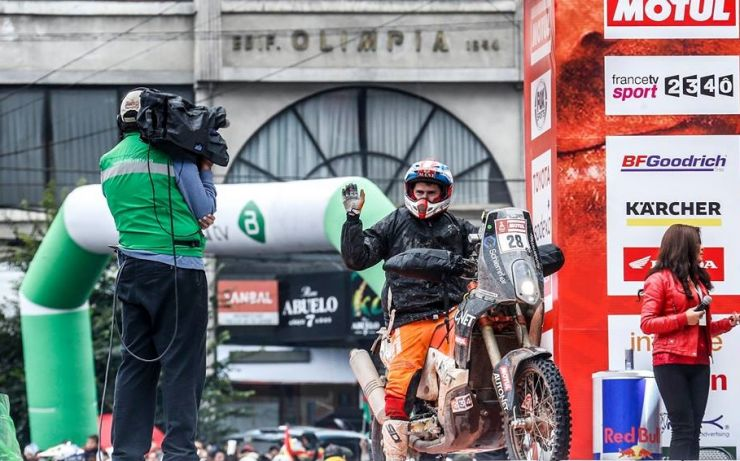 Dakar 2018  | Emanuel Gyenes, locul 30 în etapa a şaptea