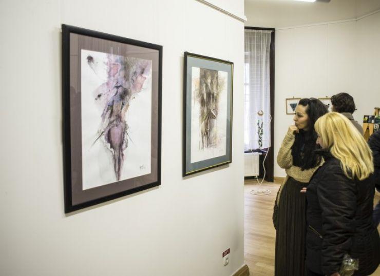 A fost deschisă expoziția de arte plastice a Asociației Provinciart, la Castelul din Carei