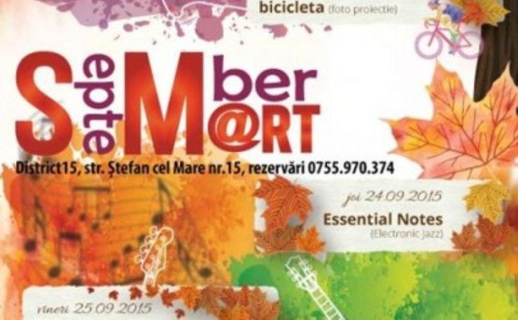 """Toamna culturală sătmăreană: """"September Smart"""""""