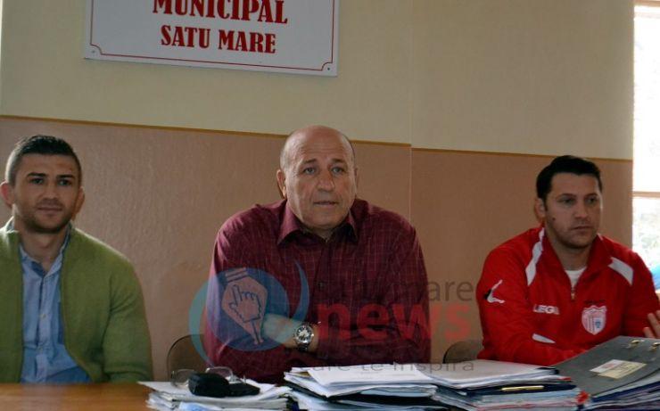 """Președintele CSM Satu Mare, Valeriu Neagu: """"Eu o să-mi dau demisia spre binele sportului sătmărean"""""""