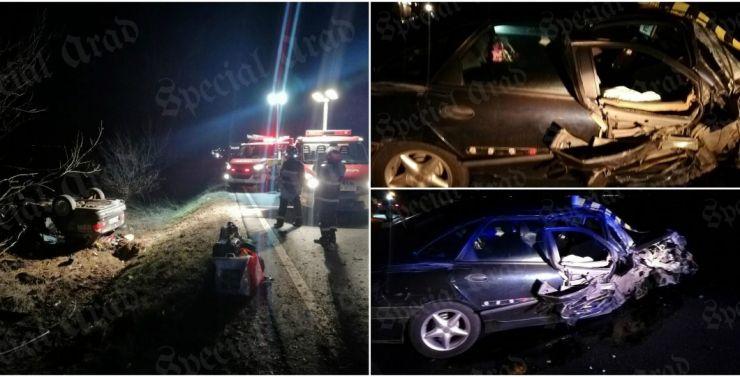 O studentă din Satu Mare, implicată într-un accident grav pe DN 19