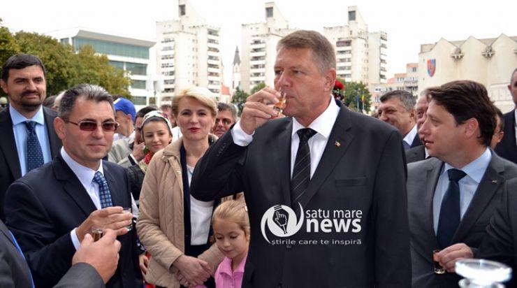 Sătmărenii încep săptămâna alături de președintele României, Klauss Iohannis