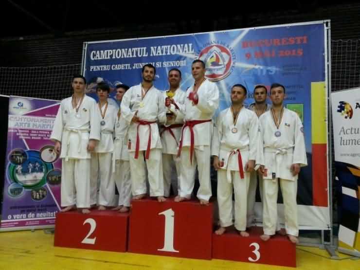 Karate. CSM Satu Mare a cucerit 12 medalii la Campionatul Național