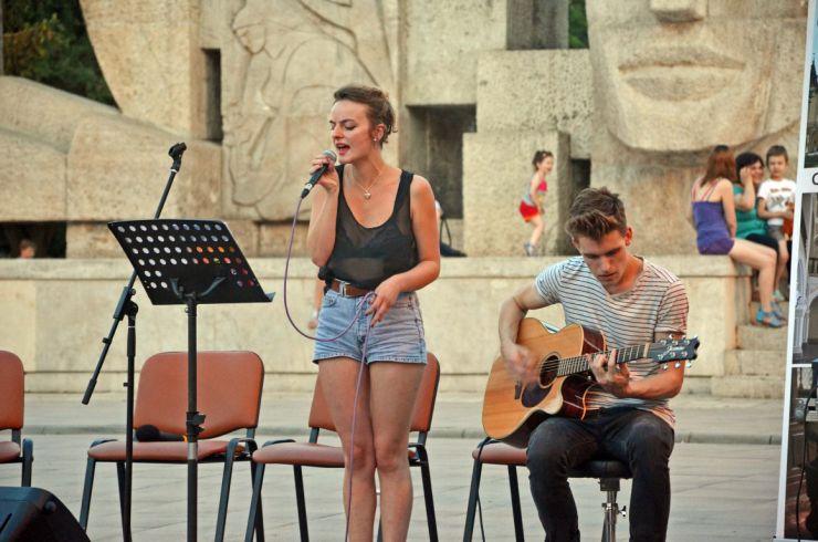 Public numeros la StreetMusic Festival de la Carei