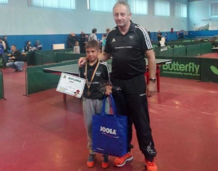 TENIS de MASĂ. Careianul Szilagyi Paul, printre primii 12 sportivi din Clasamentul Naţional