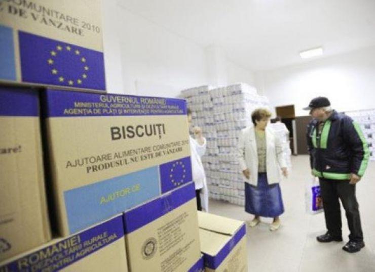 Peste 71.000 de nevoiași sătmăreni vor primi de la UE pachete cu alimente