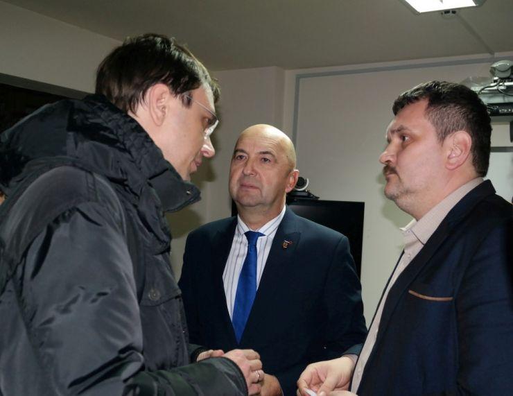 Prefectul Radu Bud a primit o delegație din Ucraina condusă de ministrul infrastructurii, Vladimir Omelian