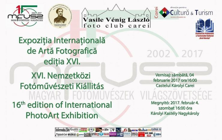 Expoziție foto a Asociației Mondiale a Artiștilor Fotografi Maghiari, la Castelul din Carei