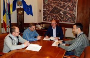 A fost semnat contractul pentru proiectarea celui de-al treilea pod peste râul Someș