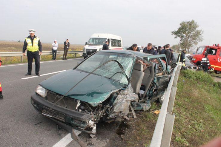 Cetățean american, implicat într-un accident între Carei și Petrești