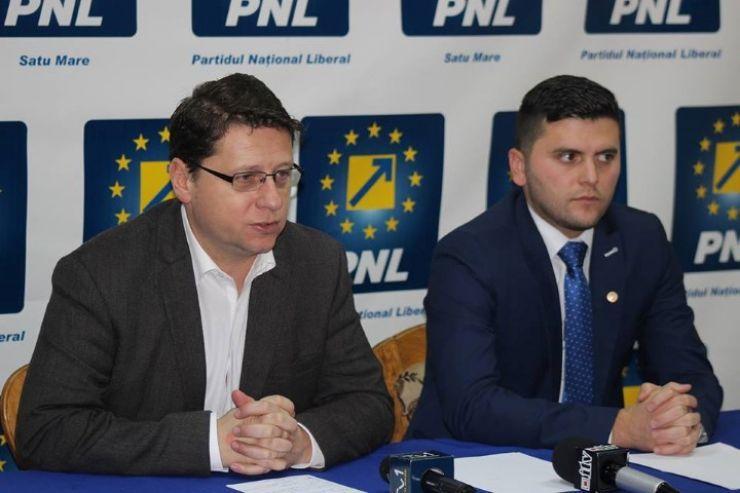 PNL. Candidații pentru Primăria și Consiliul Județean Satu Mare: Adrian Cozma și Romeo Nicoară