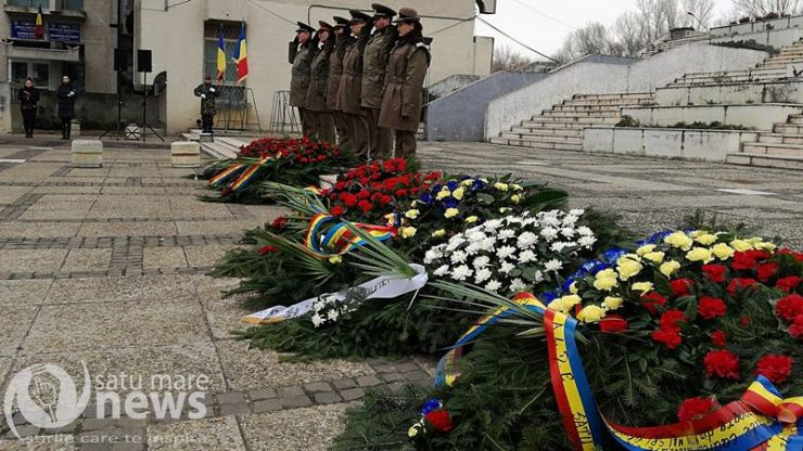 Eroii Revoluției din 1989, comemorați astăzi la Satu Mare