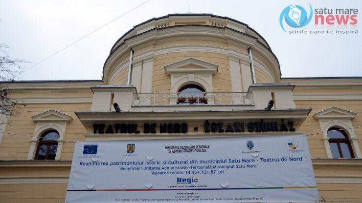 Coica și UDMR explică situația Teatrului de Nord Satu Mare