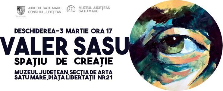 """Expoziţie """"Spaţiu de creaţie"""" semnată Valer Sasu"""