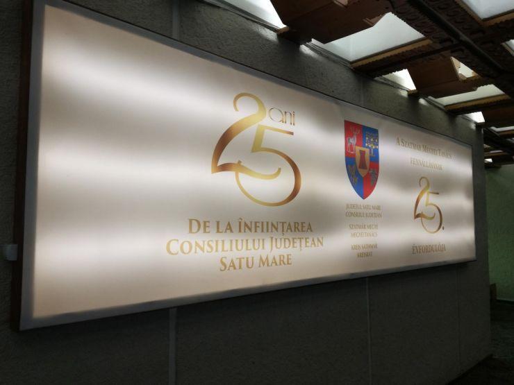 Consiliul Județean Satu Mare - 25 de ani de existență