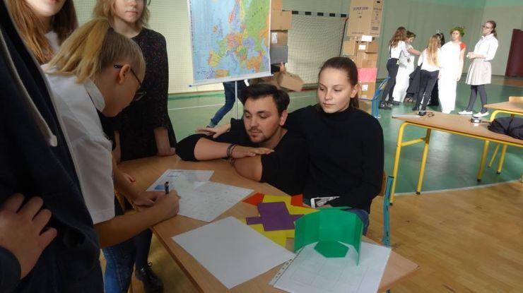Erasmus+ | Elevi și profesori de la Liceul german, în vizită la şcoala parteneră din Strzelno, Polonia