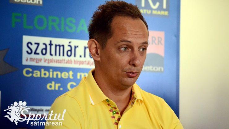 Președintele clubului Olimpia, Attila Karda, din nou în vizorul consilierilor locali