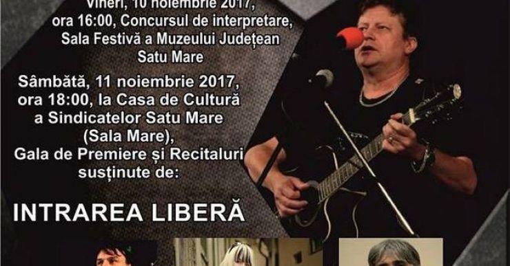 Prima ediție a concursului național de muzică folk Octavian Bud, la Satu Mare
