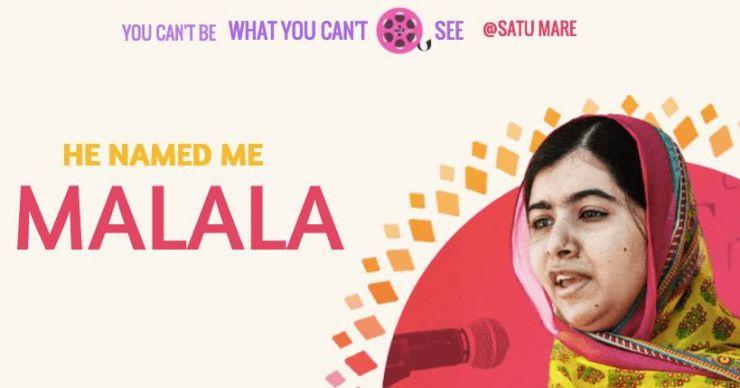 Proiecție de film: He named me Malala, la Poesis