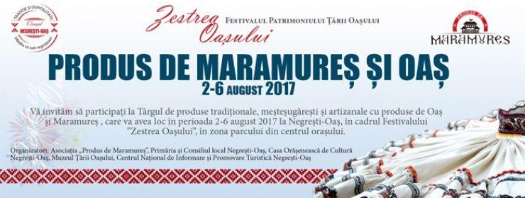 """Târg de produse tradiţionale, meşteşugăreşti şi artizanale """"Produs de Maramureş şi Oaş"""""""