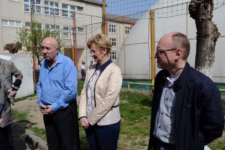 """Clădirea din curtea Liceului Teoretic German """"Johann Ettinger"""" va fi reabilitată"""
