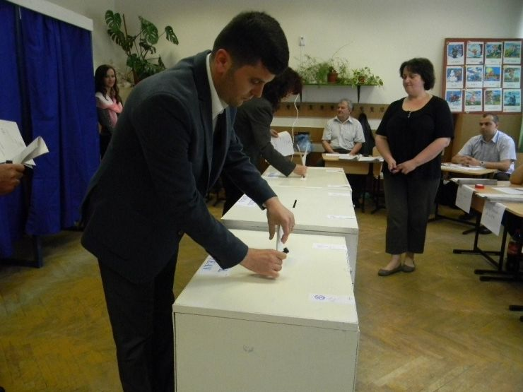 Alegeri 2016 Satu Mare. Adrian Cozma a votat pentru un oraș de care să fie mândru