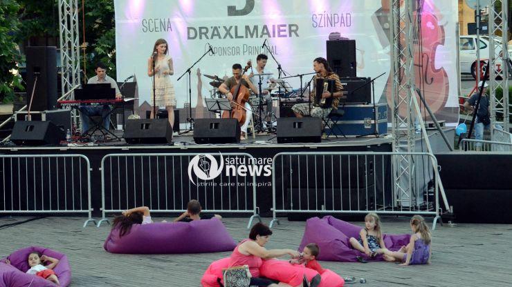 StreetMusic Festival 2016. Sute de sătmăreni s-au relaxat în prima seară de muzică live